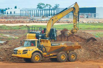 grondverzetmachine huren